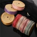 HY-107 Organza ribbon with a strip