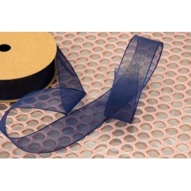 Organza ribbon with shimmer