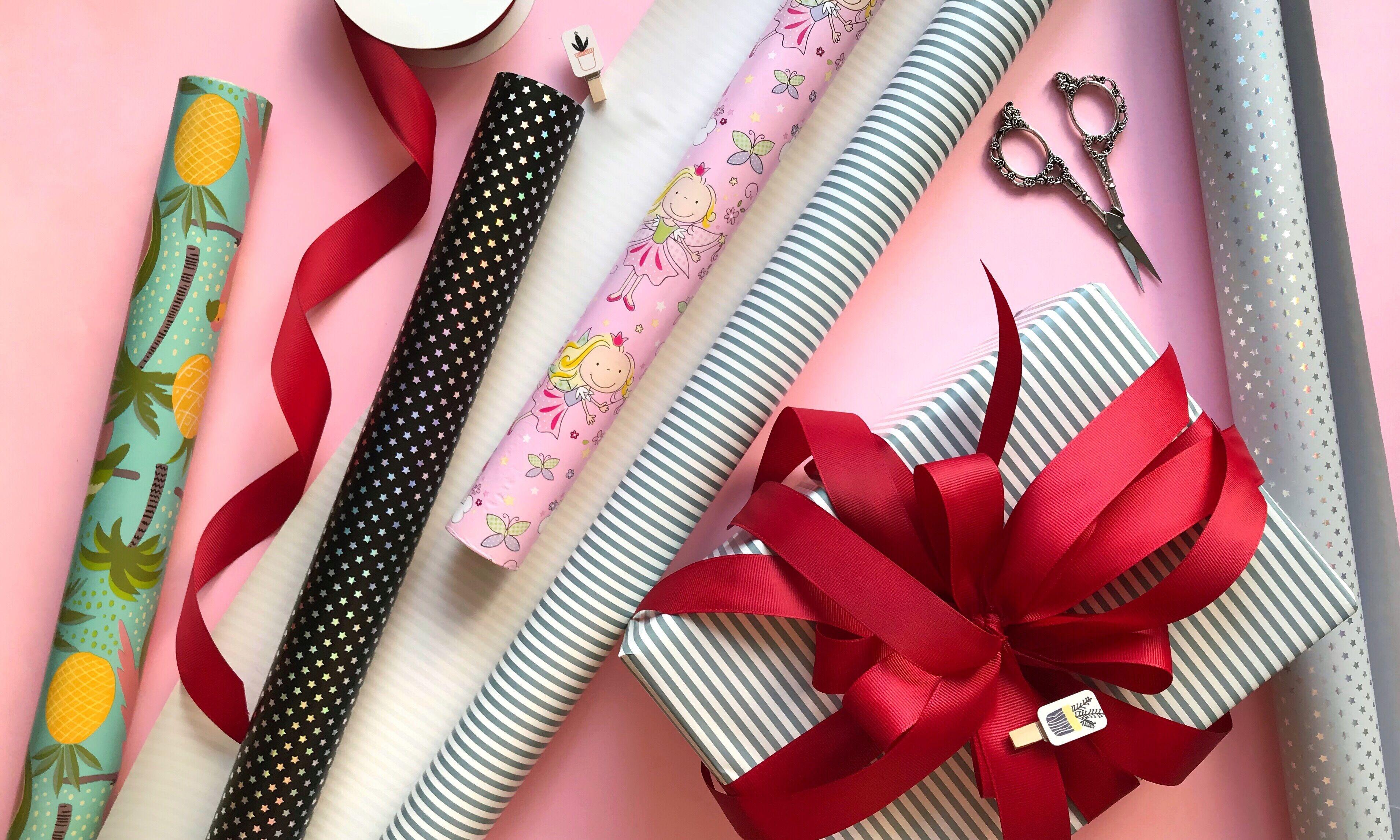Бумага для подарков